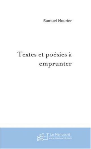 Textes et poésies à emprunter
