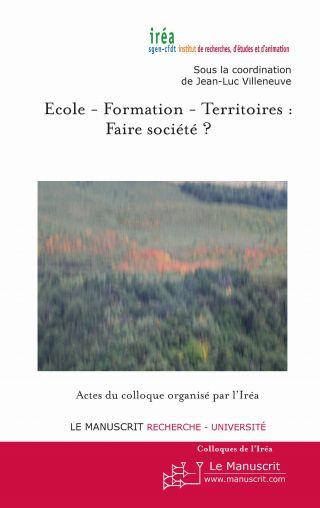 Ecole - Formation -Territoires : Faire société ?