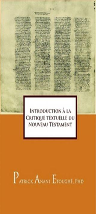 Introduction à la Critique textuelle du Nouveau Testament