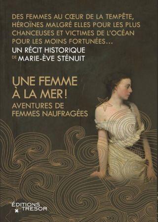 Une femme à la mer!