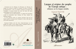 Langues et origines des peuples de l'Europe antique