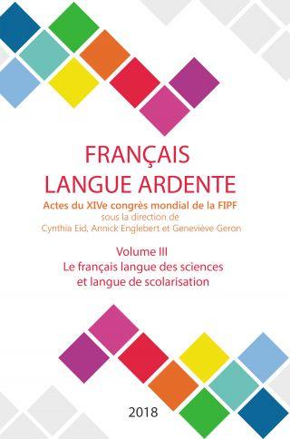 Le français langue des sciences et langue de scolarisation