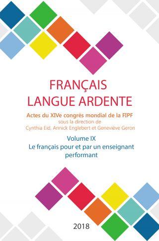 Le français pour et par un enseignant performant