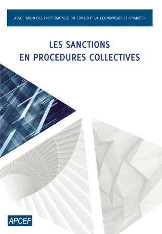 Les sanctions en procédures collectives