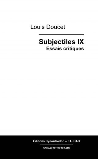 Subjectiles IX