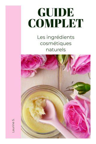 Les ingrédients cosmétiques naturels