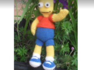 Bart Simpson en crochet
