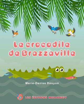 Le crocodile de Brazzavillr